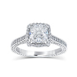 Jacqueline Halo Engagement Ring