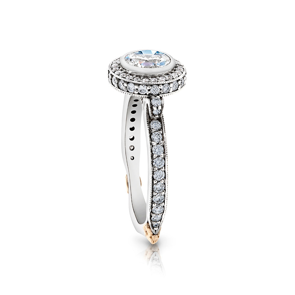 Chloe Halo Engagement Ring