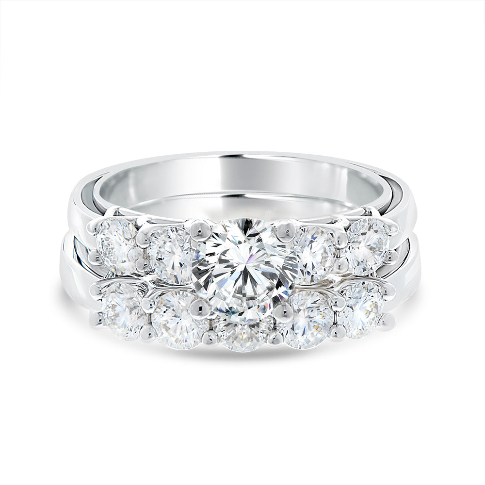 Diana Diamond Wedding Band