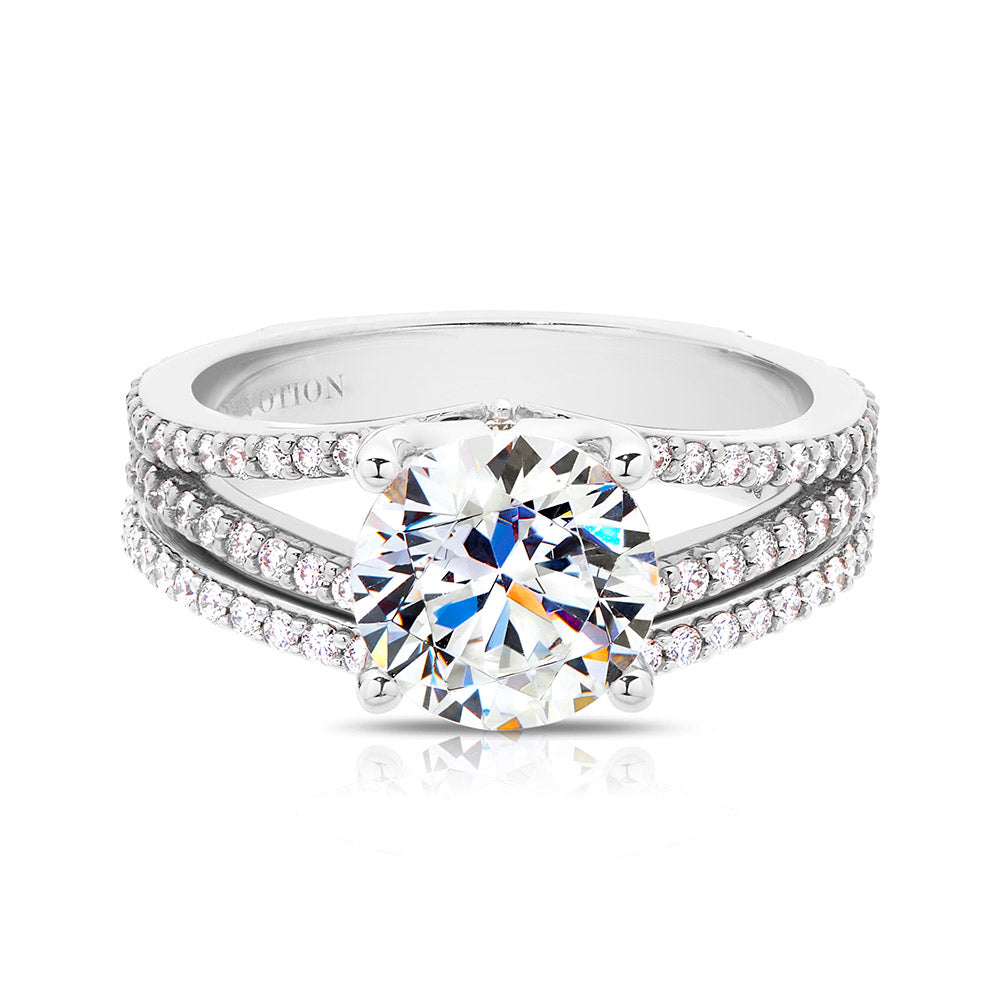 Grace Diamond Wedding Band