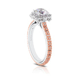 Flora Diamond Engagement Ring