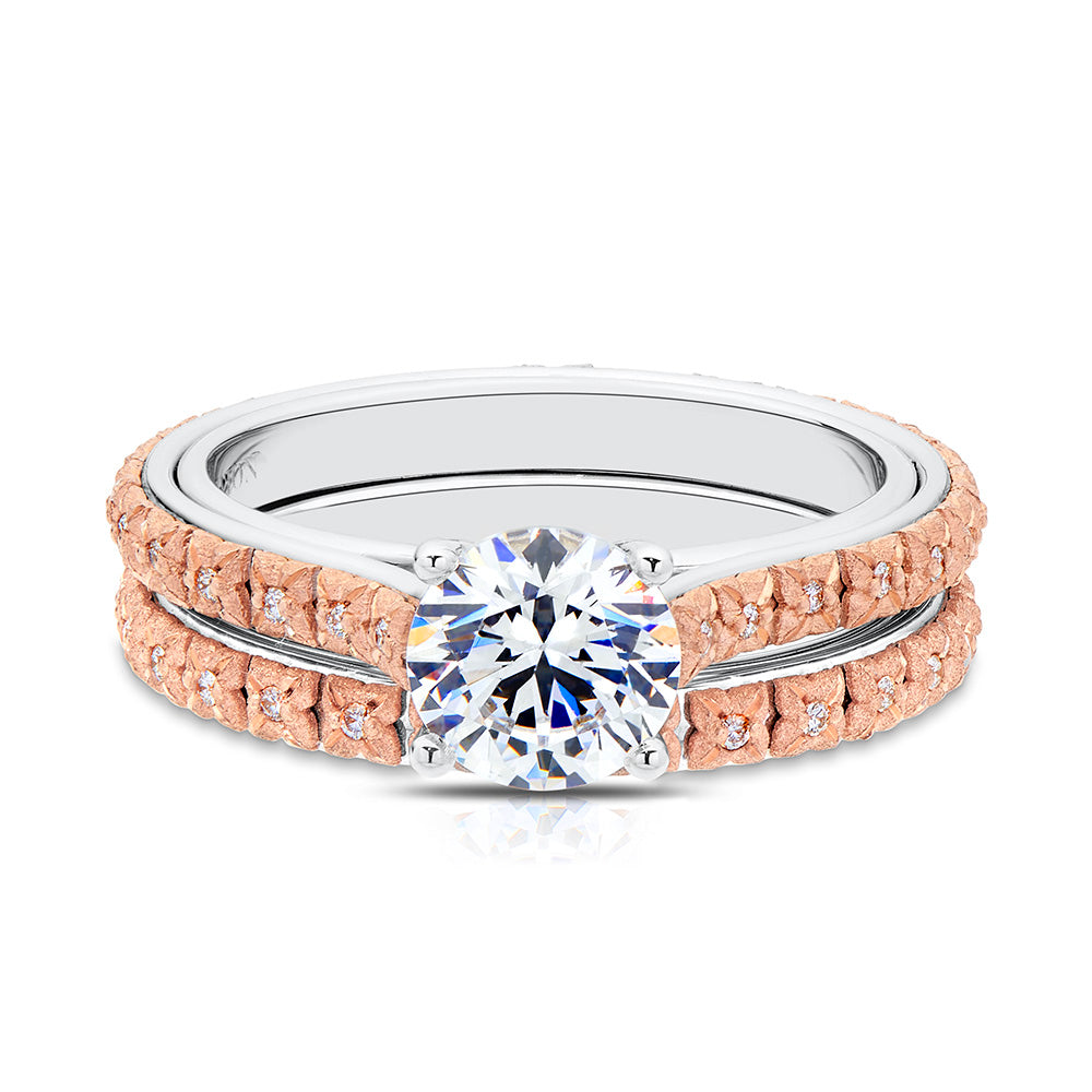 Penelope Diamond Wedding Band