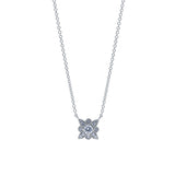 Etoile Diamond Pendant Necklace in 18K Gold