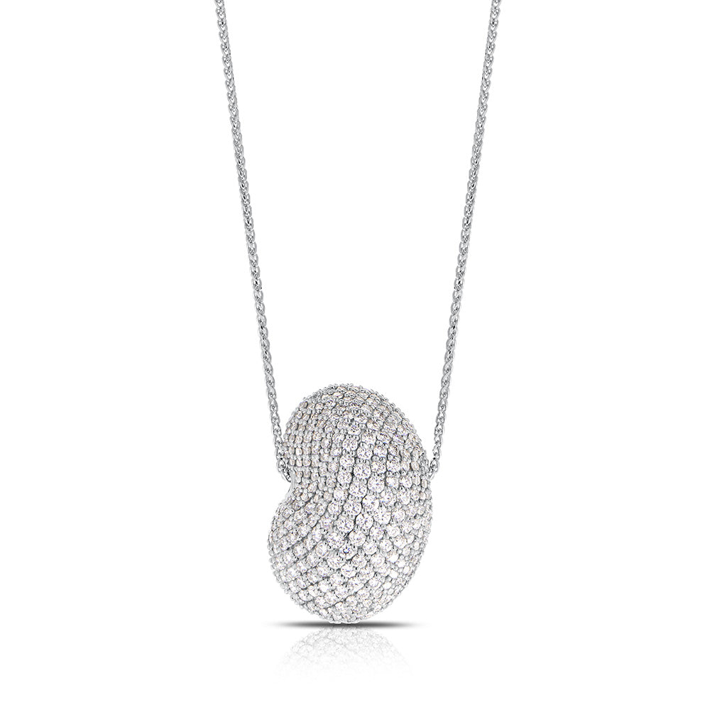 Tendance Diamond pavé Pendant Necklace in 18K Gold