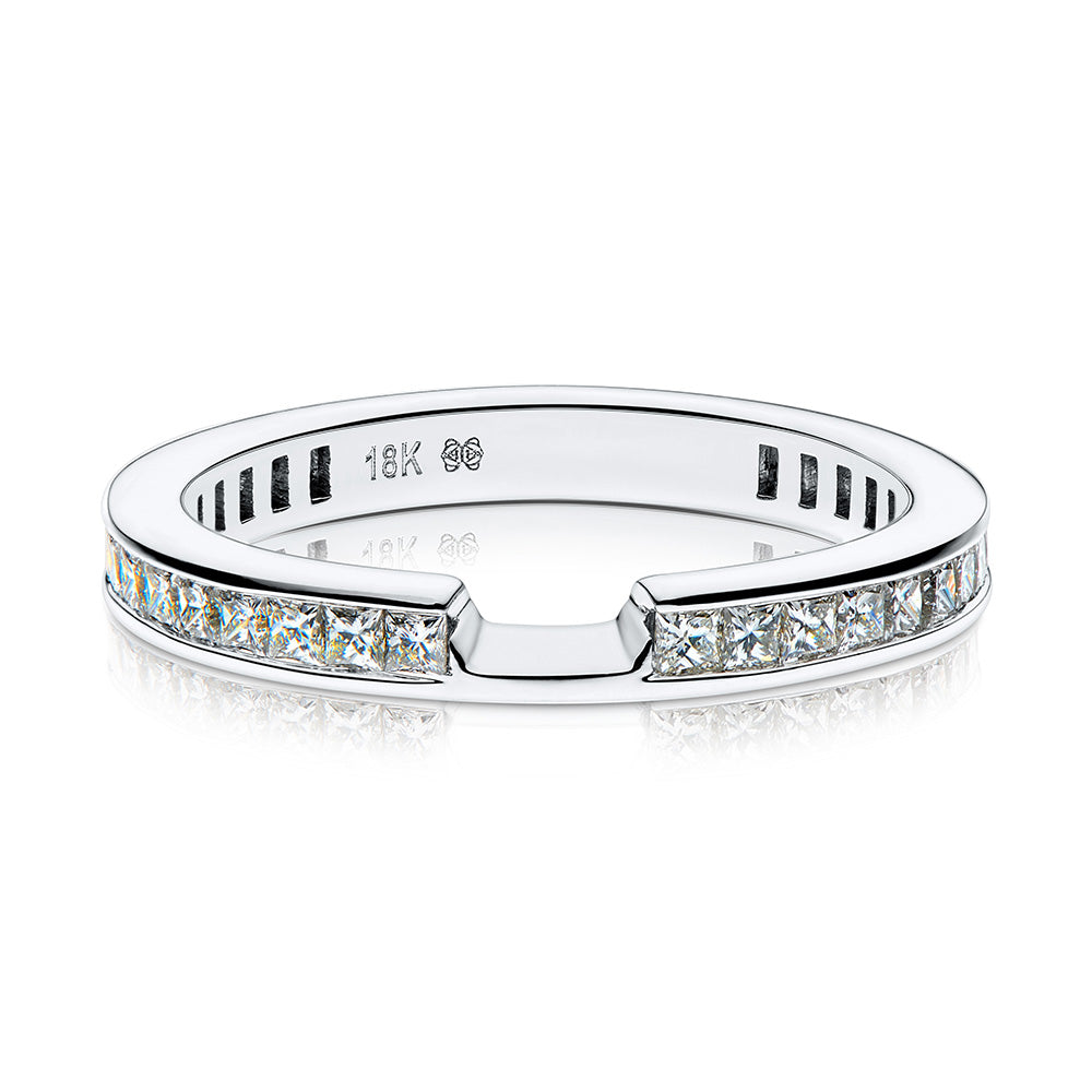 Abigail Diamond Wedding Band