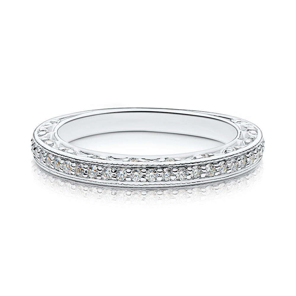 Vivienne Diamond Wedding Band