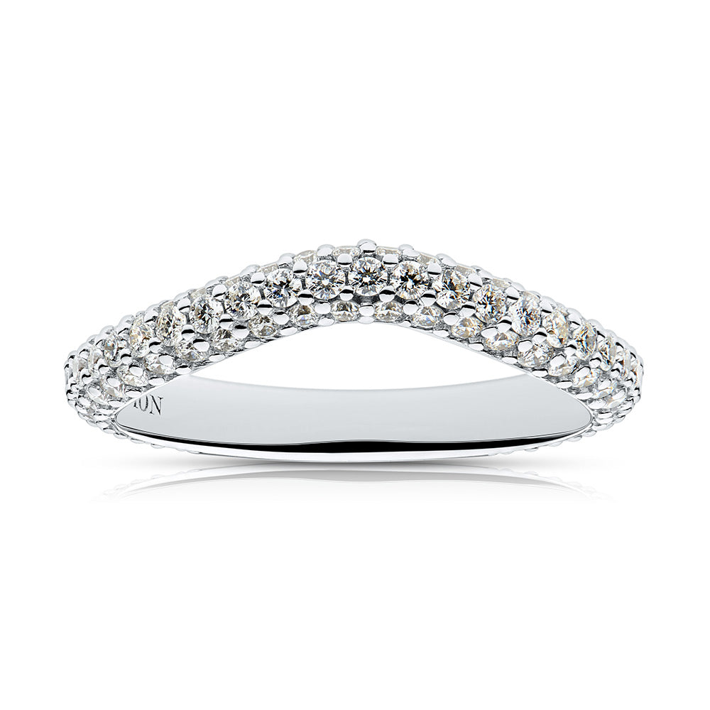 Stella Diamond Wedding Band