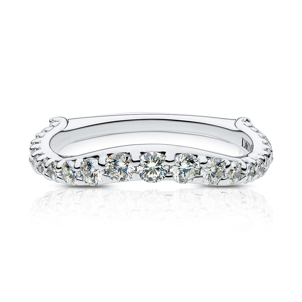 Simone Diamond Wedding Band