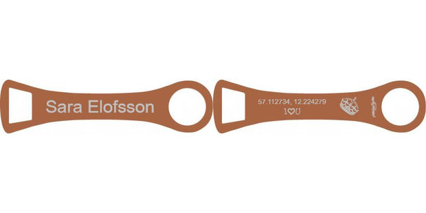 Copper Shadow Hand Jive Bar Blade  - Bar Blades