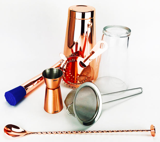 7 pc copper set