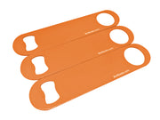 Neon Orange Triple Blade Custom Set - Bar Blades