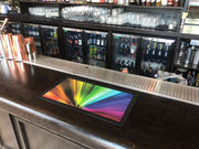 Small Bar Runner With Rubber Edging - Bar Blades