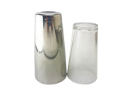 Boston Tin 28oz & Boston Glass 16oz Weighted Cocktail Shaker Set - Bar Blades