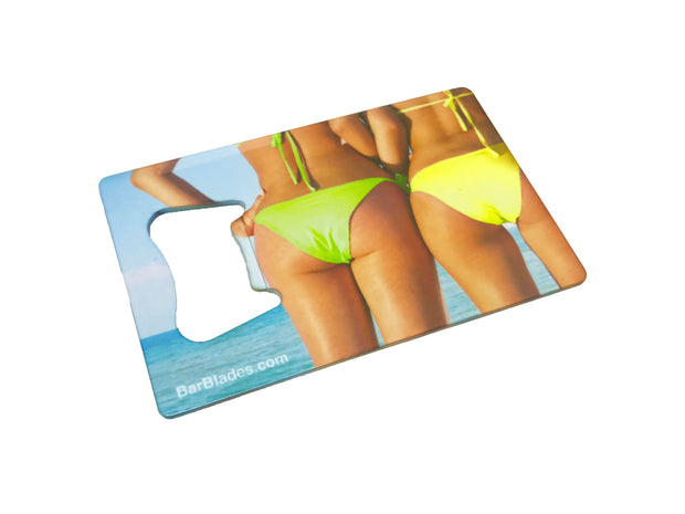 Bikini Bottoms Wrapic Credit Card Bottle Opener - Bar Blades