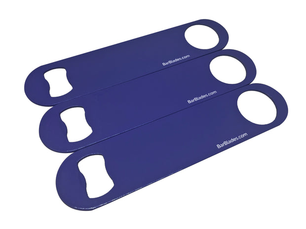 Electric Blue Triple Blade Custom Set - Bar Blades