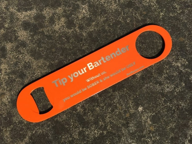Orange Tip Bartender Sober Ugly Bar Blade  - Bar Blades