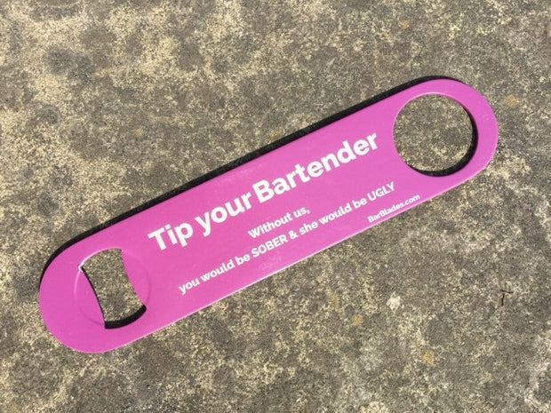 Purple Tip Bartender Sober Ugly Bar Blade
