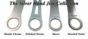 Nickel Shadow Hand Jive Bar Blade  - Bar Blades