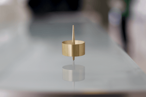 Brass Spin Top-1