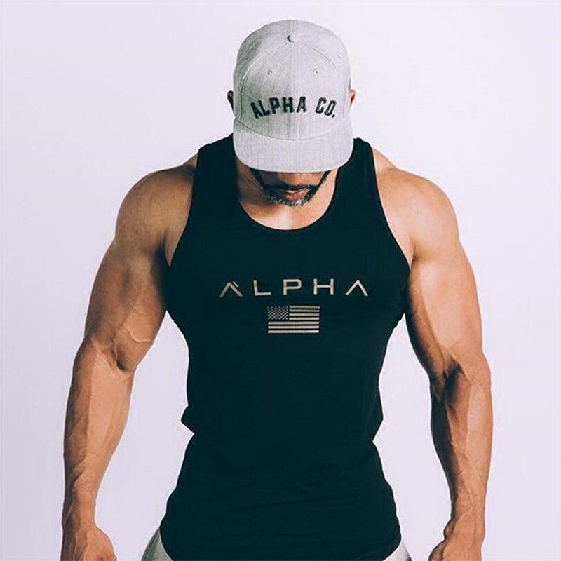 ALPHA Tank Workout Top