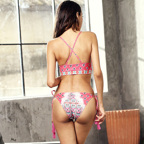 Halter Trendy Bikini Fashion