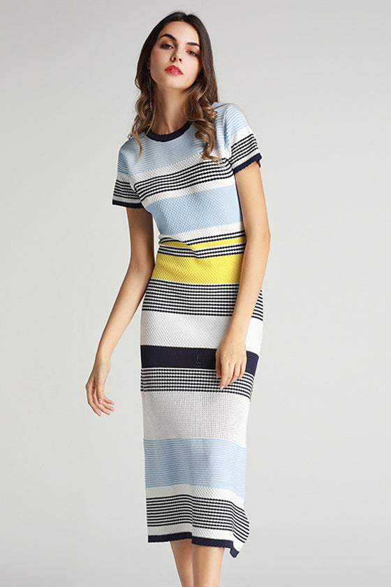 Multi Color A Line Ladies Dress