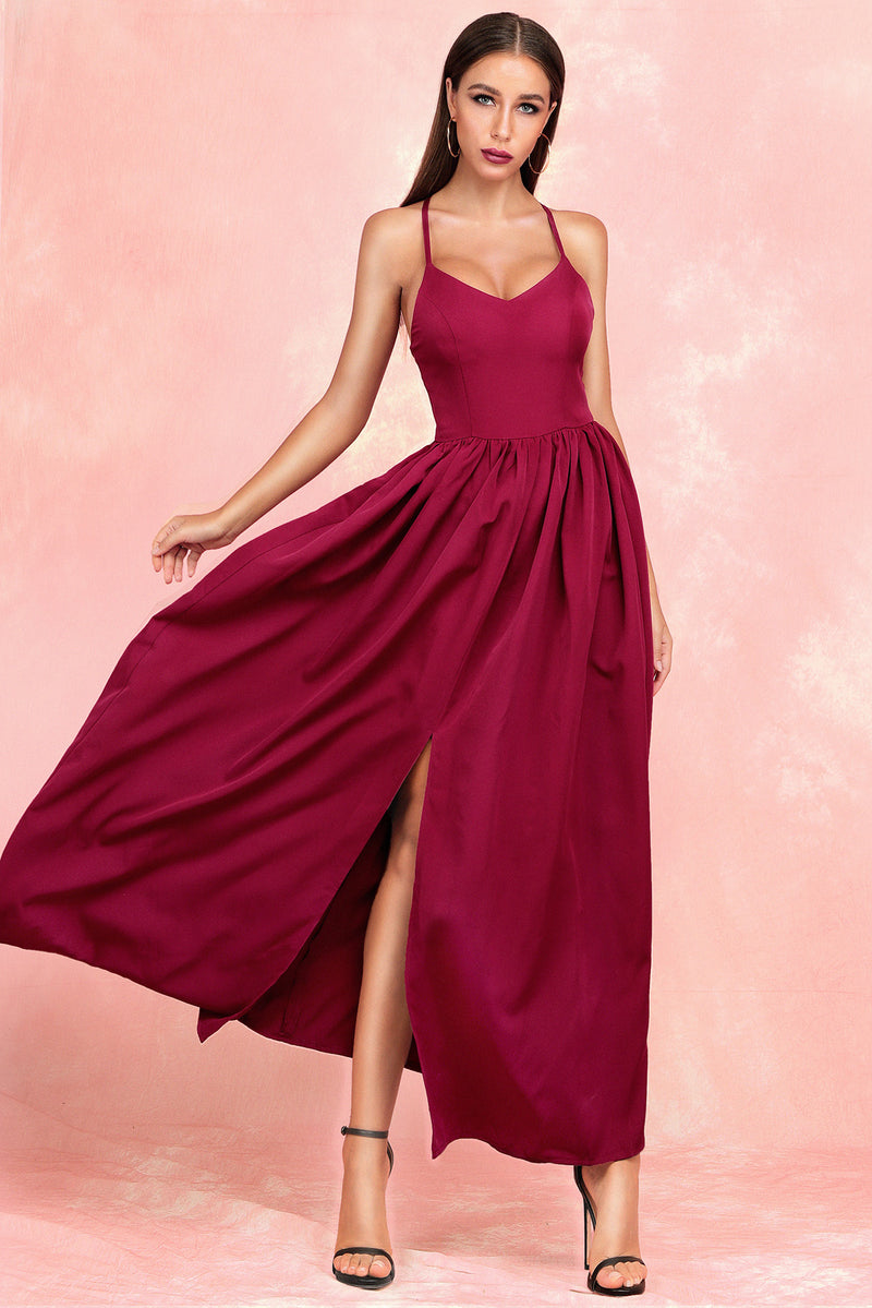 Strappy Long Maxi Sexy Backless Dress