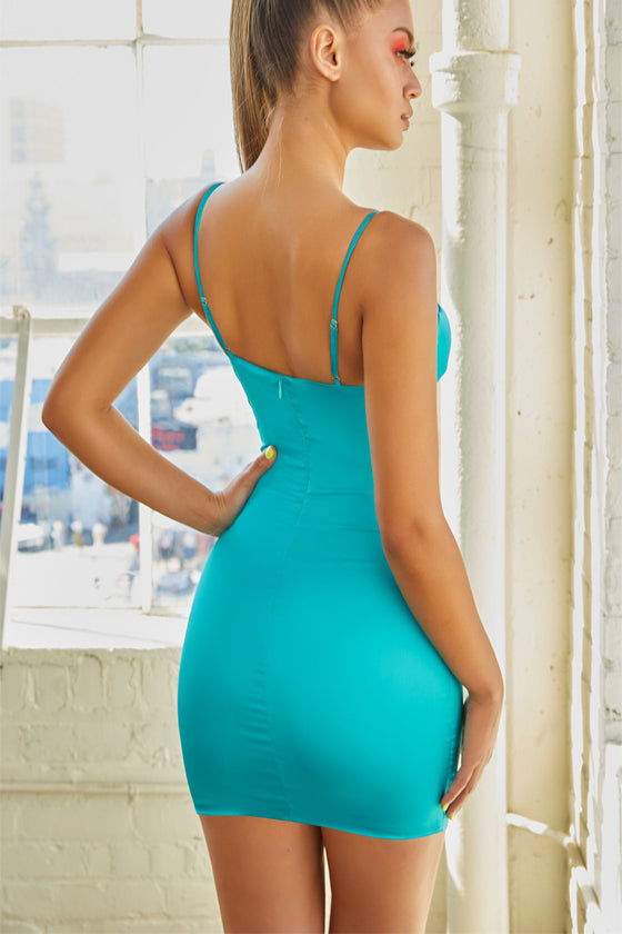 Sexy Strapless Bodycon Midi Summer Dress