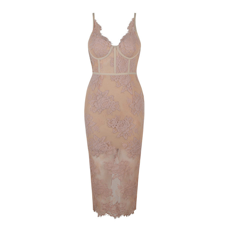 Women's Nice Lace Details Dress