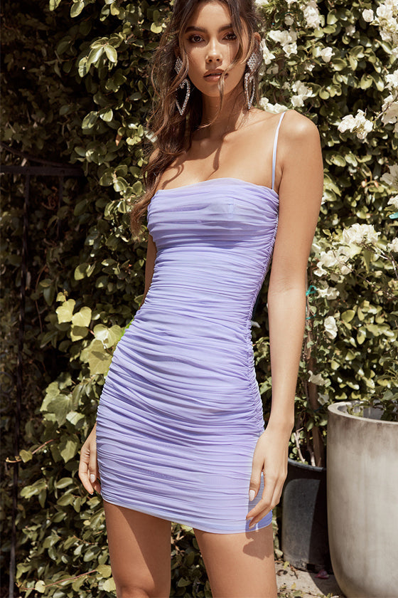 Summer Sleeveless Strapless Bodycon Dress
