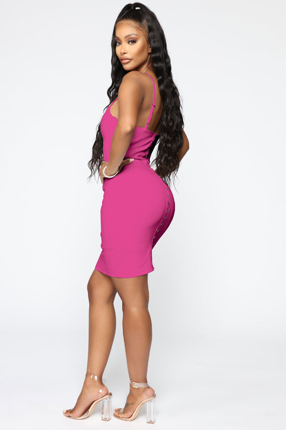 Bodycon Mini Spaghetti Bandage Dress