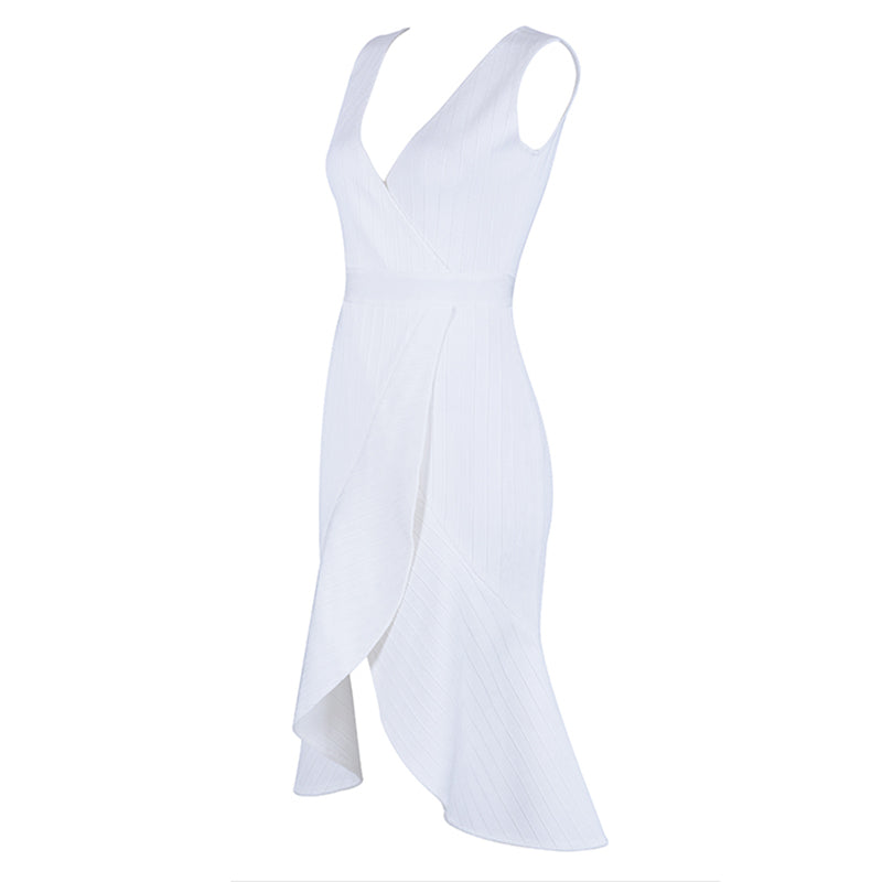 White Elegant Women Dress