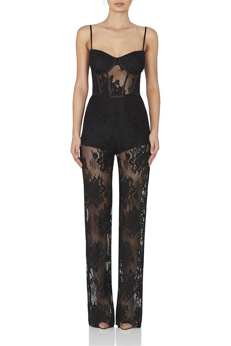 Sexy Lace Jumpsuit