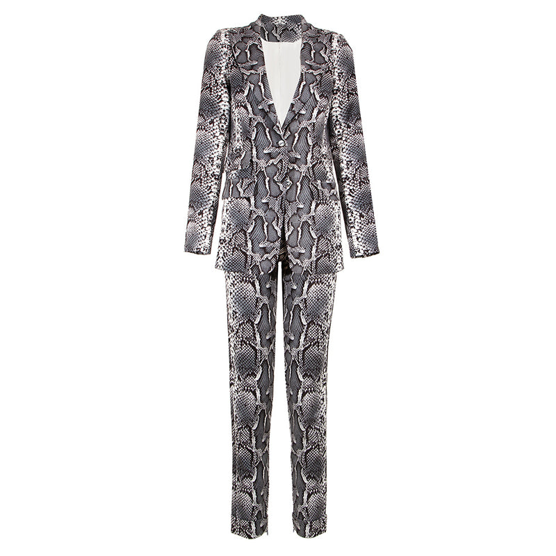 Serpentine Suit 2 Piece Set