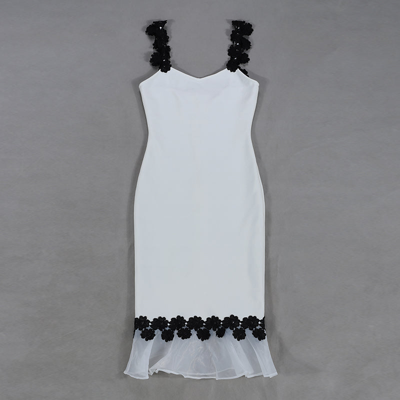 White Spaghetti Strap Dress