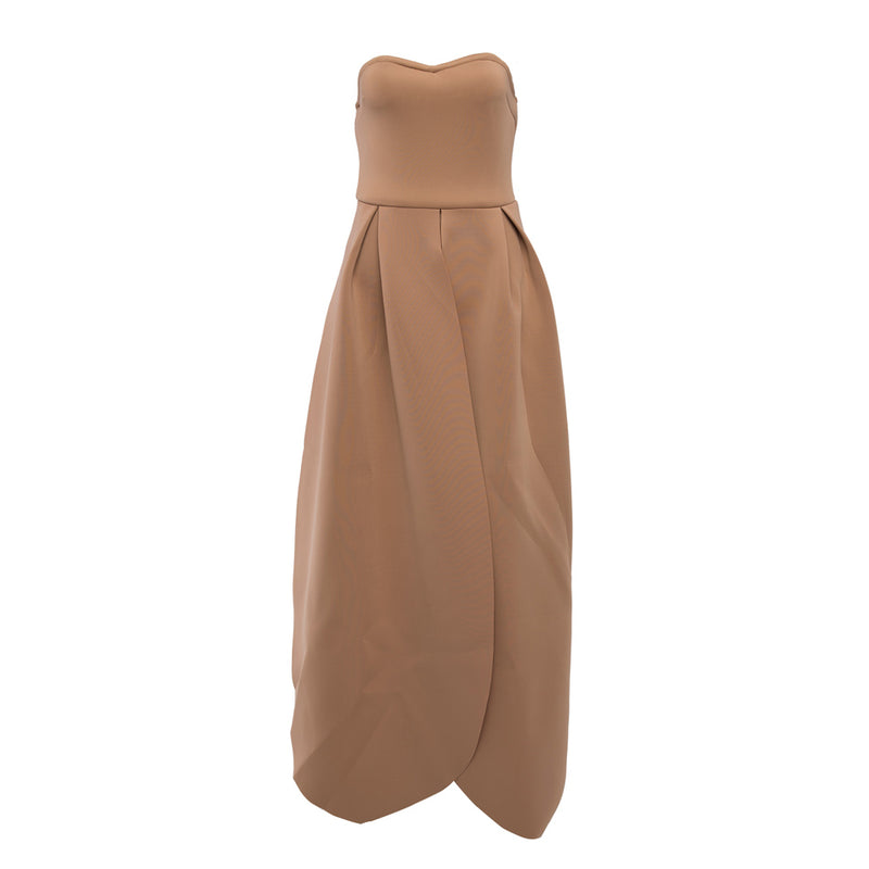 Summer New Strapless Sleeveless Dress