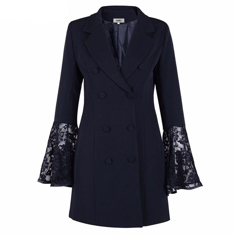 Long Paragraph Small Suit Jacket