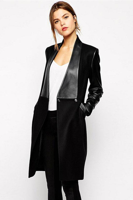 Black Long Sleeves Coat