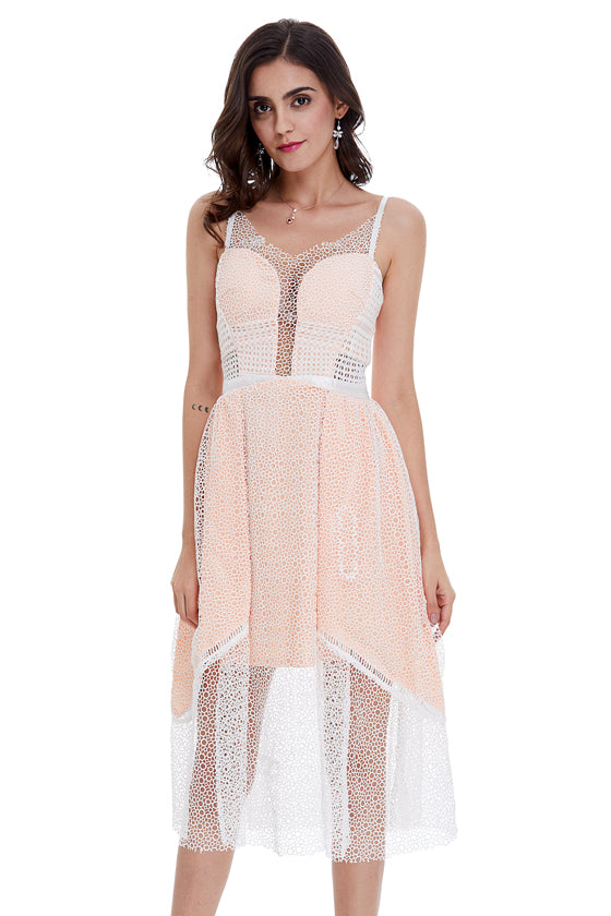 Designer Fashion Going-out Lace Dress