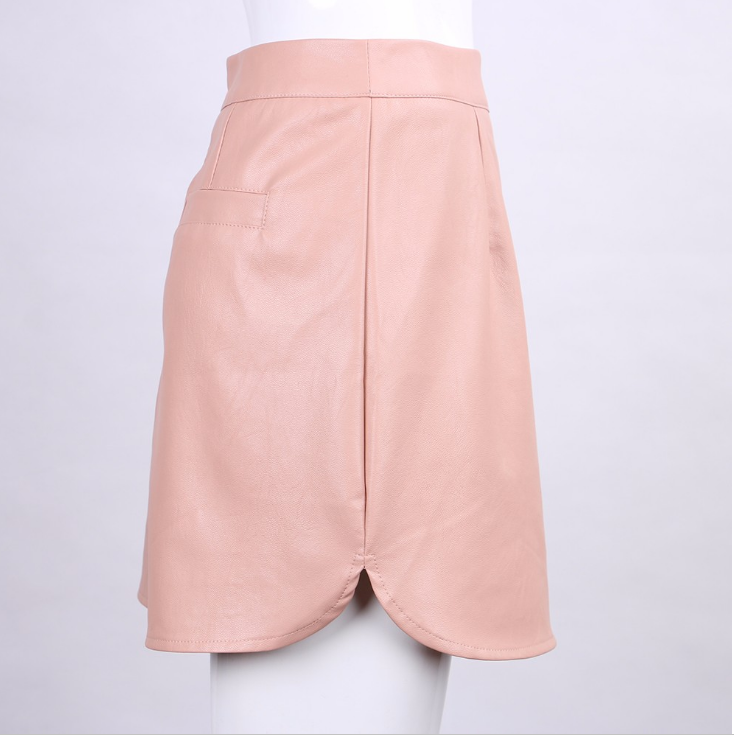 Pink Mini Skirt Hot Sell