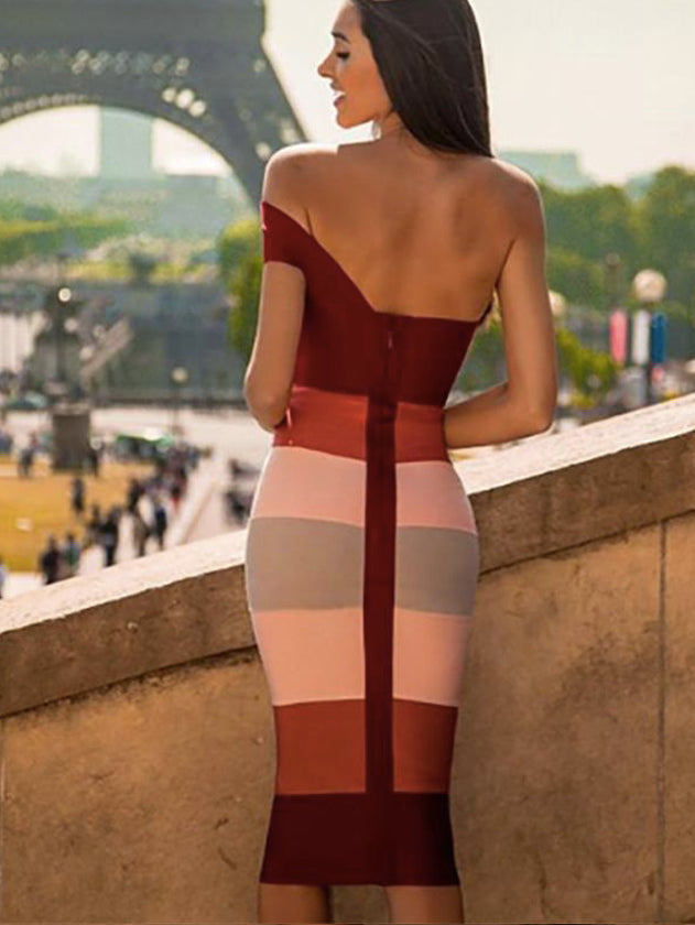 sexy and fashion women's bandage dress popular fashion dress boutique