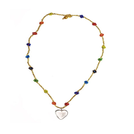 CHAQUIRA HEART NECKLACE