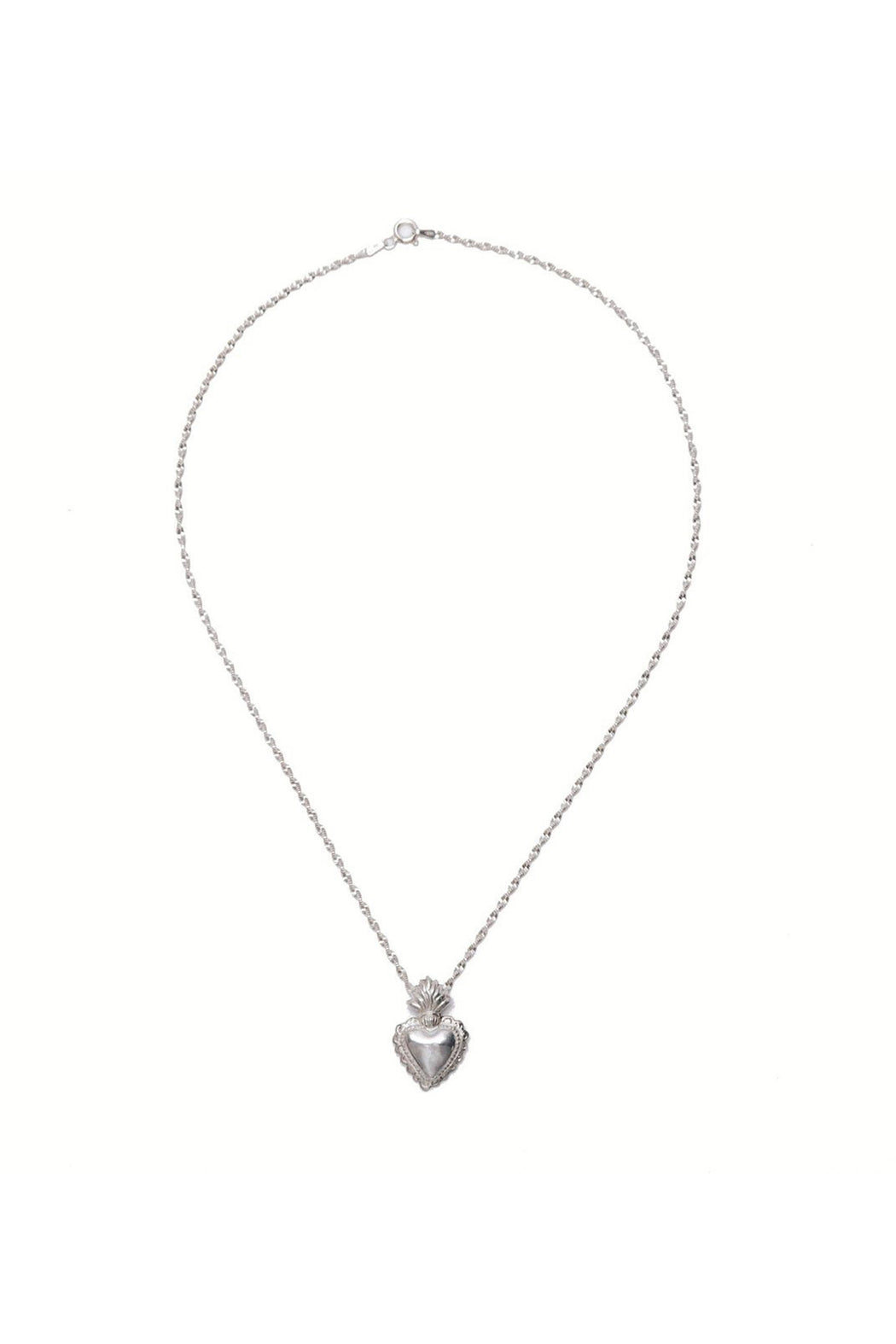 Hearts on Fire II Charm Necklace