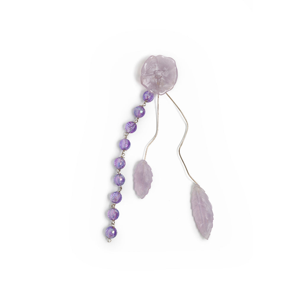 JACARANDAS EARRINGS FLOR PEARL