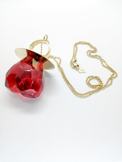 RING HEART POP NECKLACE