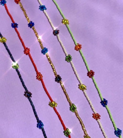 Chaquira Anklet