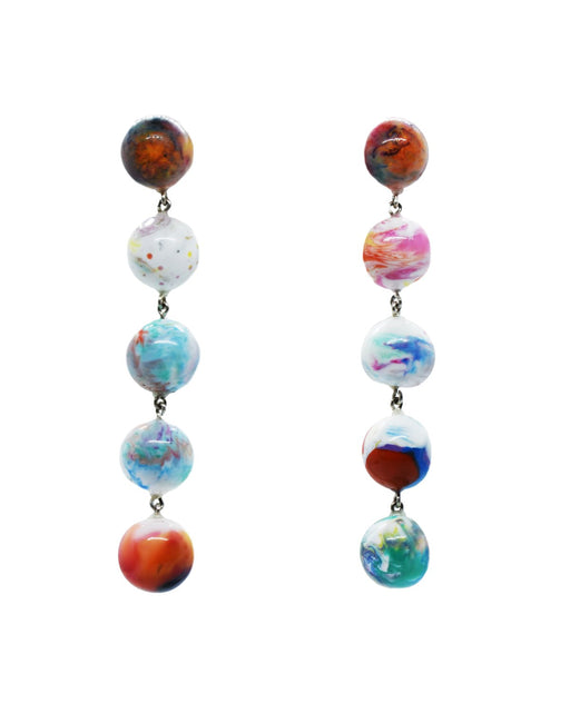 El Roy Resin Drop Earrings