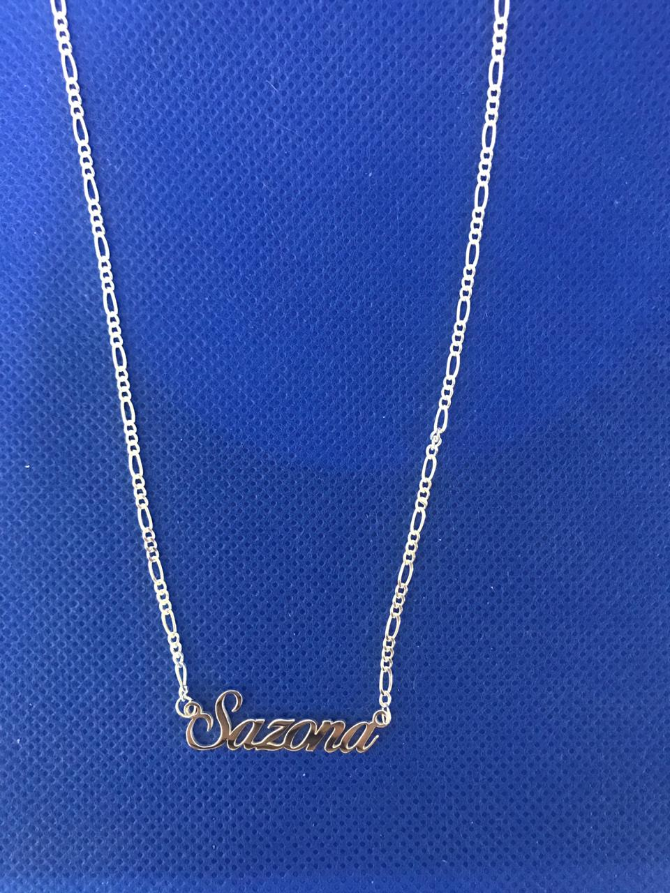 SAZONA TAG NECKLACE