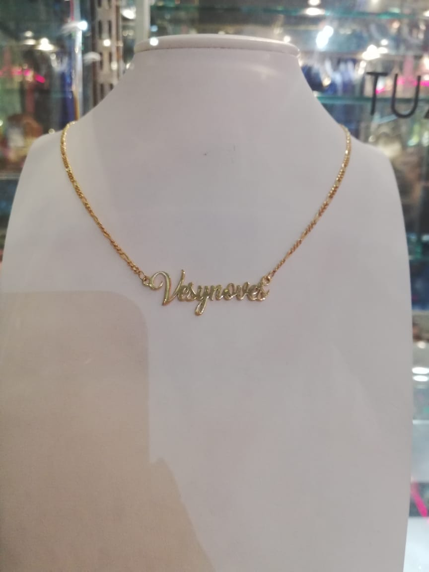 VES Y NO VES TAG NECKLACE
