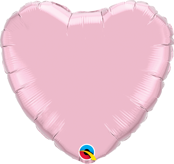 Pearl Pink Heart Balloon | 18""